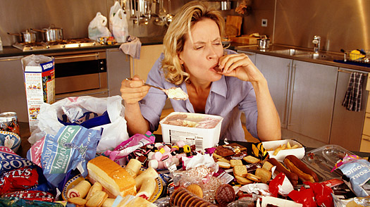 Binge eating is bad