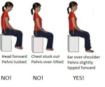 sit good posture
