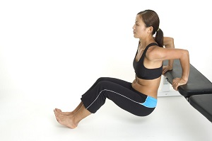 Rid flabby arms